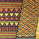 Картины для интерьера Ритмы Африки. Панно батик. . Коричневый. Желтый. Оранжевый. Бирюзовый. Желтый. Картины для спальни. Подарок любимой. Картина на шелке.  Мир Африки. Чувственность. Картины Решетов