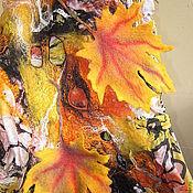 """Аксессуары ручной работы. Ярмарка Мастеров - ручная работа Палантин """" Золотая осень"""". Handmade."""