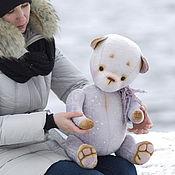 Куклы и игрушки ручной работы. Ярмарка Мастеров - ручная работа Добрый волшебник  мишка тедди. Handmade.