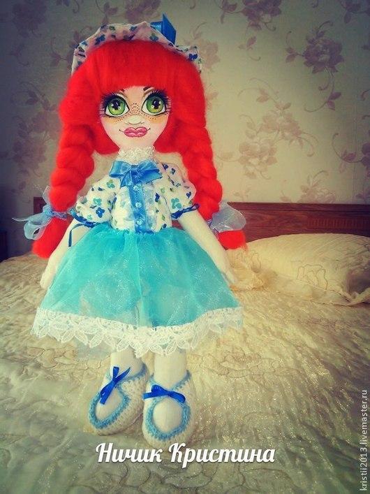 Коллекционные куклы ручной работы. Ярмарка Мастеров - ручная работа. Купить текстильная кукла  Зоя.. Handmade. Кукла в подарок