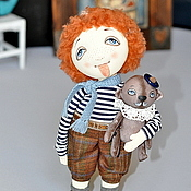 Куклы и игрушки ручной работы. Ярмарка Мастеров - ручная работа Рыжий.... рыжий.... Конопатый....! Резерв для Хельги. Handmade.