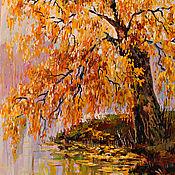 Картины ручной работы. Ярмарка Мастеров - ручная работа Осень. Handmade.