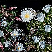 """Картины ручной работы. Ярмарка Мастеров - ручная работа Картина маслом ручной работы: """" Ночью. """" . 60 х 80 см. Handmade."""