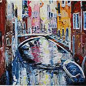 Картины и панно ручной работы. Ярмарка Мастеров - ручная работа Карамельная Венеция. Handmade.