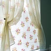 Для дома и интерьера handmade. Livemaster - original item Roman shade with tulle. Handmade.