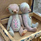 """Куклы и игрушки ручной работы. Ярмарка Мастеров - ручная работа Мишка """"ЮнионДжек"""". Handmade."""