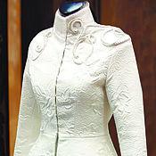 Одежда ручной работы. Ярмарка Мастеров - ручная работа Свадебный жакет `Гусар`. Handmade.