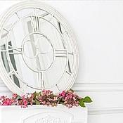 """Для дома и интерьера ручной работы. Ярмарка Мастеров - ручная работа Интерьерное зеркало """"Часы"""". Handmade."""