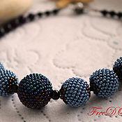 Украшения handmade. Livemaster - original item Beaded decoration. Beads. Balls.Winter.. Handmade.