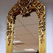 """Для дома и интерьера ручной работы. Ярмарка Мастеров - ручная работа Зеркало """" Злата"""". Handmade."""