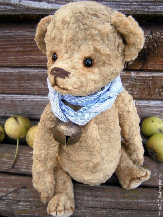 Мишки Тедди ручной работы. Ярмарка Мастеров - ручная работа. Купить Кристофер. Handmade. Коричневый, мишка тедди винтаж