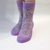 Аксессуары handmade. Livemaster - original item Felted socks. Handmade.