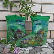 Обувь ручной работы. Ярмарка Мастеров - ручная работа Во саду ли, в огороде.... Чуни домашние.. Handmade.