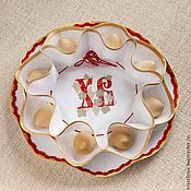 Подарки к праздникам ручной работы. Ярмарка Мастеров - ручная работа Пасхальница с вышивкой. Handmade.