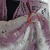 Аксессуары handmade. Livemaster - original item Shawl Purple haze. Handmade.