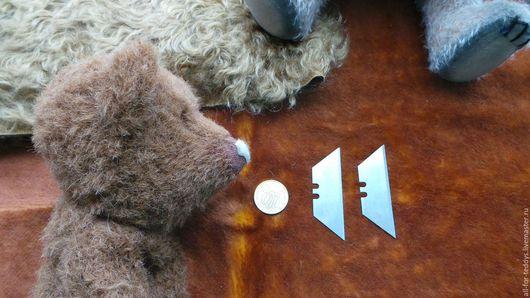Куклы и игрушки ручной работы. Ярмарка Мастеров - ручная работа. Купить Инструмент для шитья мишек Тедди - скребок для ворса. Handmade.