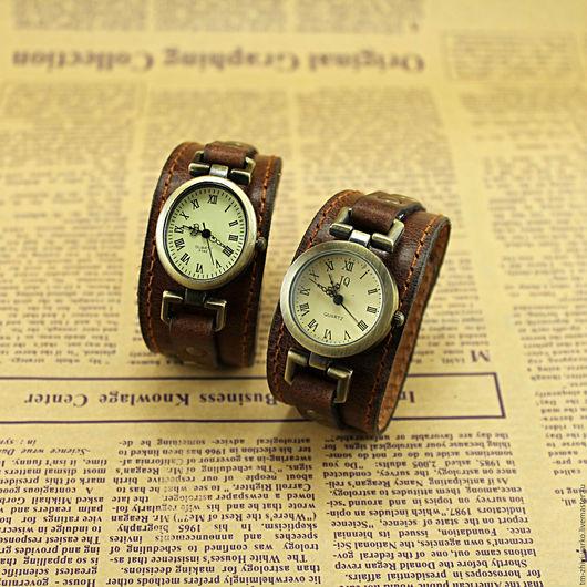 """Часы ручной работы. Ярмарка Мастеров - ручная работа. Купить Часы наручные в стиле винтаж """"Осень"""". Handmade. Часы"""