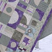 """Для дома и интерьера ручной работы. Ярмарка Мастеров - ручная работа Лоскутное одеяло """" ЛАУРА"""". Handmade."""