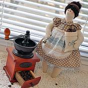 Куклы и игрушки ручной работы. Ярмарка Мастеров - ручная работа Кофейная дама. Handmade.