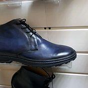 Ботинки ручной работы. Ярмарка Мастеров - ручная работа Ботинки натуральная кожа. Handmade.
