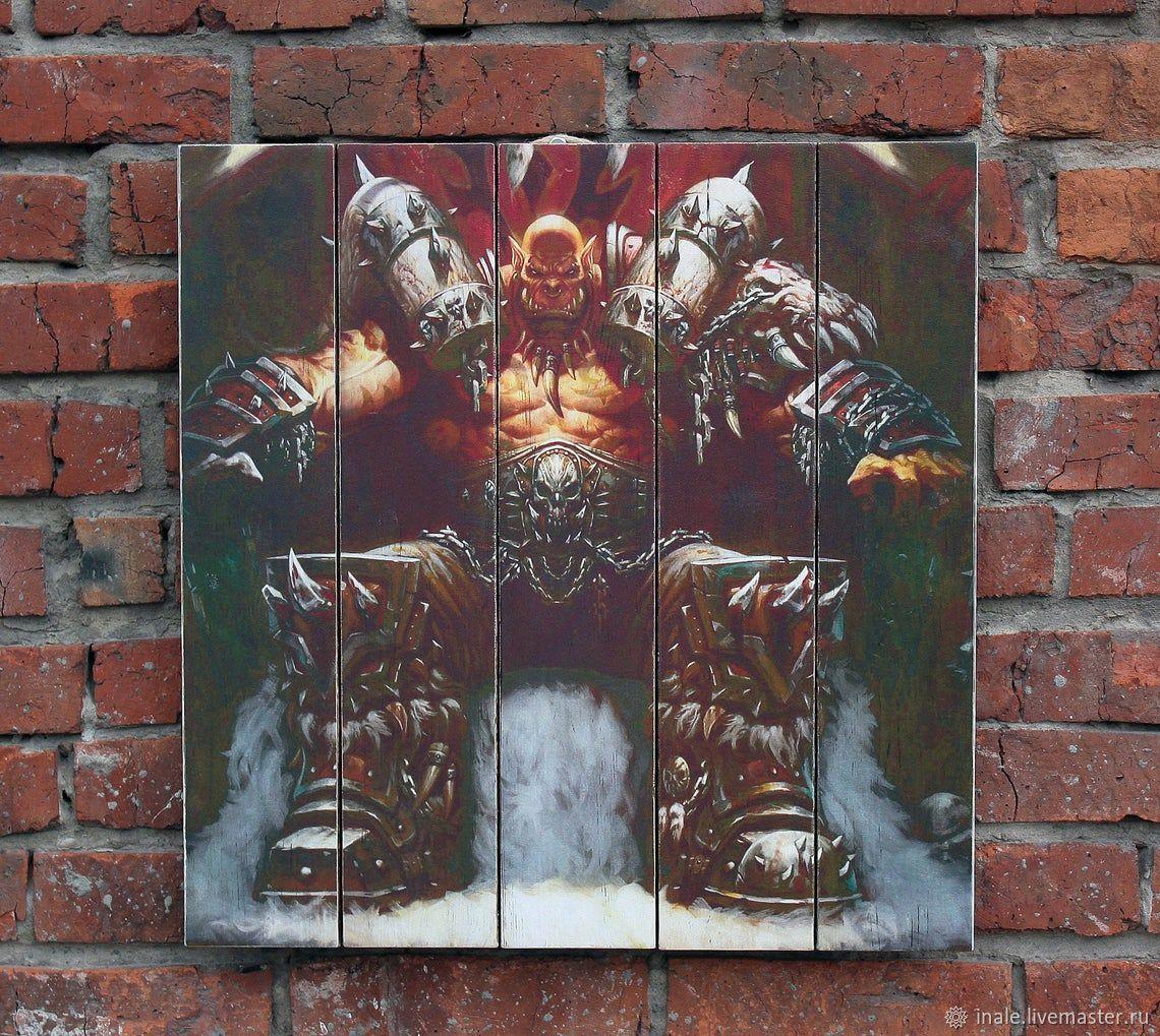 Pintura en los tableros de Garrosh Hellscream (World of Warcraft), Pictures, Tomsk,  Фото №1
