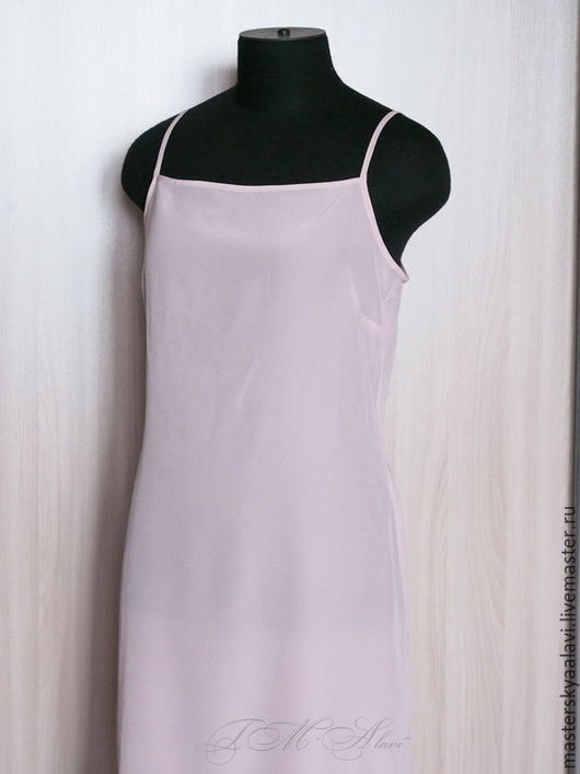 """Белье ручной работы. Ярмарка Мастеров - ручная работа. Купить """"Simple"""". Нижняя сорочка из натурального шелка. Handmade. Комбинированный"""