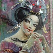 Украшения ручной работы. Ярмарка Мастеров - ручная работа В пору цветения сакуры.... Handmade.