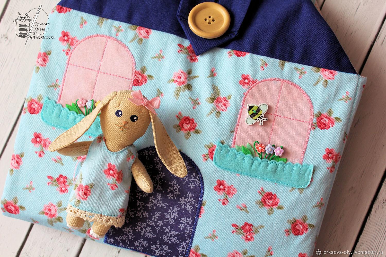 Домик-сумочка для зайки, Кукольные домики, Ставрополь,  Фото №1
