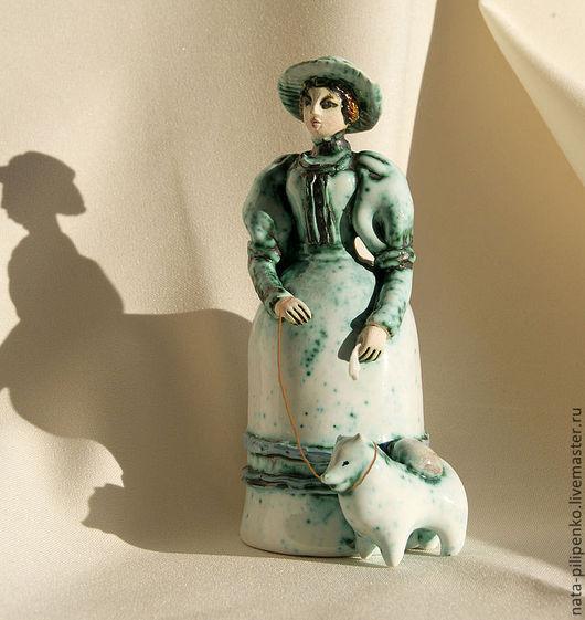 """Колокольчики ручной работы. Ярмарка Мастеров - ручная работа. Купить """"Дама с собачкой"""" ( к/ф """"Дама с собачкой""""). Handmade."""