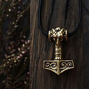 Украшения handmade. Livemaster - original item Thor`s hammer gunmetal. Handmade.