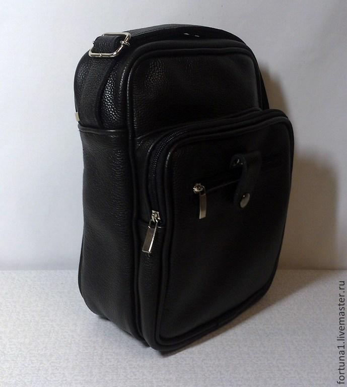 Mens leather handbag 155, Men\'s bag, St. Petersburg,  Фото №1