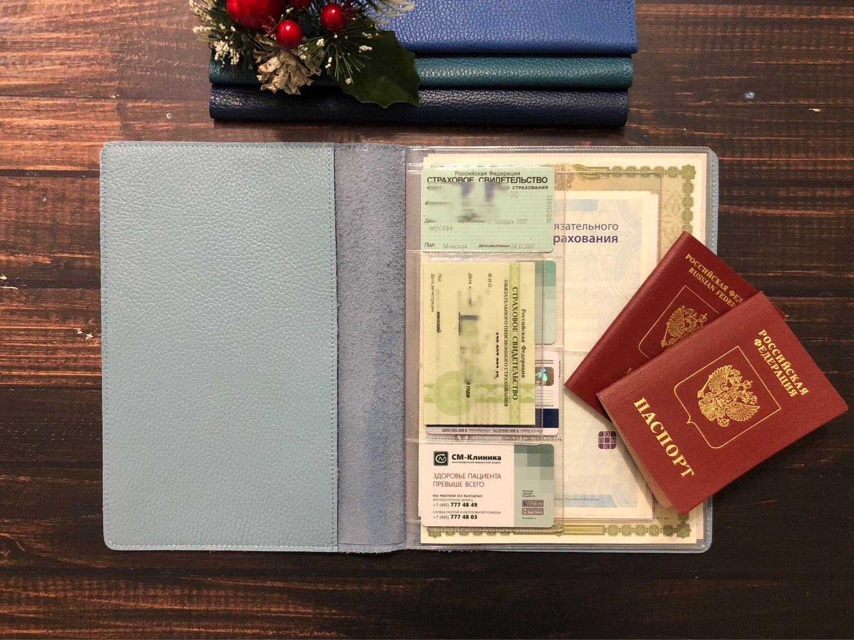 Органайзер для документов ( 2 персоны) формат В5, Обложки, Москва, Фото №1