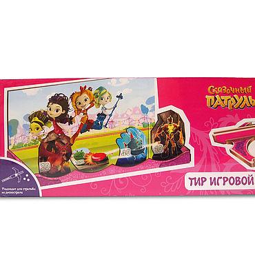 """Куклы и игрушки. Ярмарка Мастеров - ручная работа Игрушки: Тир с 4-мя мишенями """"Сказочный патруль"""". Handmade."""