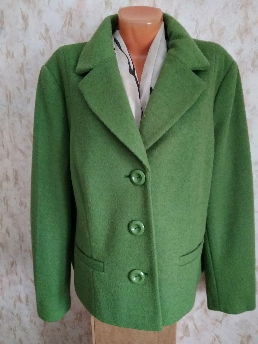 Винтаж: Жакет из ткани с шерстью 56/58 размер, Одежда винтажная, Фирово,  Фото №1