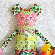 Куклы и игрушки ручной работы. Ярмарка Мастеров - ручная работа Игровая кукла Девочка-Медведочка. Handmade.