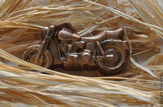 Мыло ручной работы. Ярмарка Мастеров - ручная работа. Купить Мыло мотоцикл. Handmade. Мыло ручной работы, мотоцикл