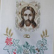 Свадебный салон ручной работы. Ярмарка Мастеров - ручная работа Венчальный рушник. Handmade.