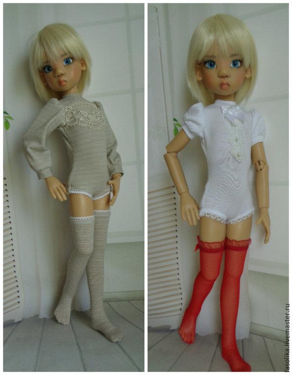 Комбидрес для куклы формата МСД (42-45 см)