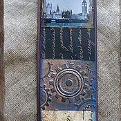 """Канцелярские товары ручной работы. Ярмарка Мастеров - ручная работа Закладки из коллекции """"Шерлок и Лондон"""" (№ 14). Handmade."""