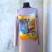 Одежда ручной работы. Ярмарка Мастеров - ручная работа платье   Осень,. Handmade.