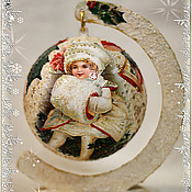 Подарки к праздникам handmade. Livemaster - original item Christmas ball