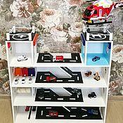 Техника, роботы, транспорт ручной работы. Ярмарка Мастеров - ручная работа Мега Паркинг для машинок. Handmade.
