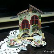 """Для дома и интерьера ручной работы. Ярмарка Мастеров - ручная работа Чайный домик """"ул.Яблочная,2"""". Handmade."""