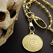 Сувениры и подарки handmade. Livemaster - original item Keychain medal