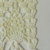 Материалы для творчества handmade. Livemaster - original item Lace knitted cotton set. Handmade.