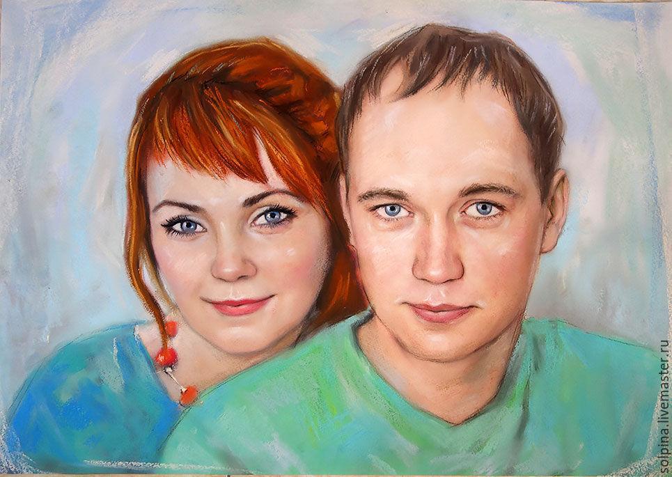 живет как нарисовать портрет пары по фото жар заставляет