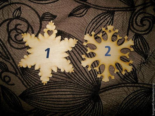 Декупаж и роспись ручной работы. Ярмарка Мастеров - ручная работа. Купить подвеска Снежинка. Handmade. Бежевый, подвеска, елочные игрушки