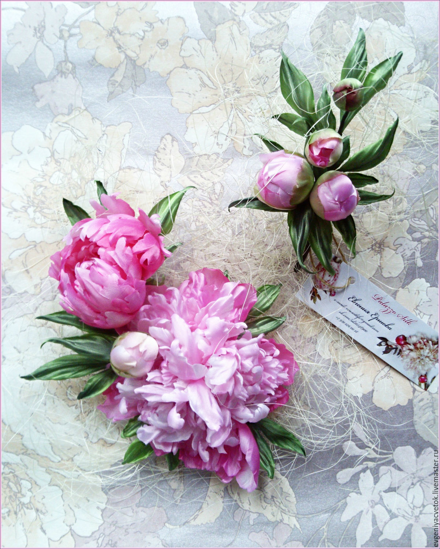 "Peonies ""Freshness Pink"" +/Exclusive series// silk flowers accessories, Flowers, Nizhny Novgorod,  Фото №1"