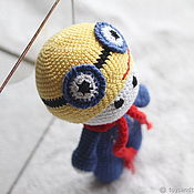 Куклы и игрушки handmade. Livemaster - original item The minion - toy for a boy. Handmade.