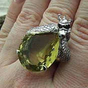 Rings handmade. Livemaster - original item Exclusive ring
